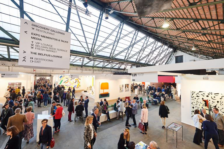 Exhibition, fair and trade show in the Sheds, at tour & taxis