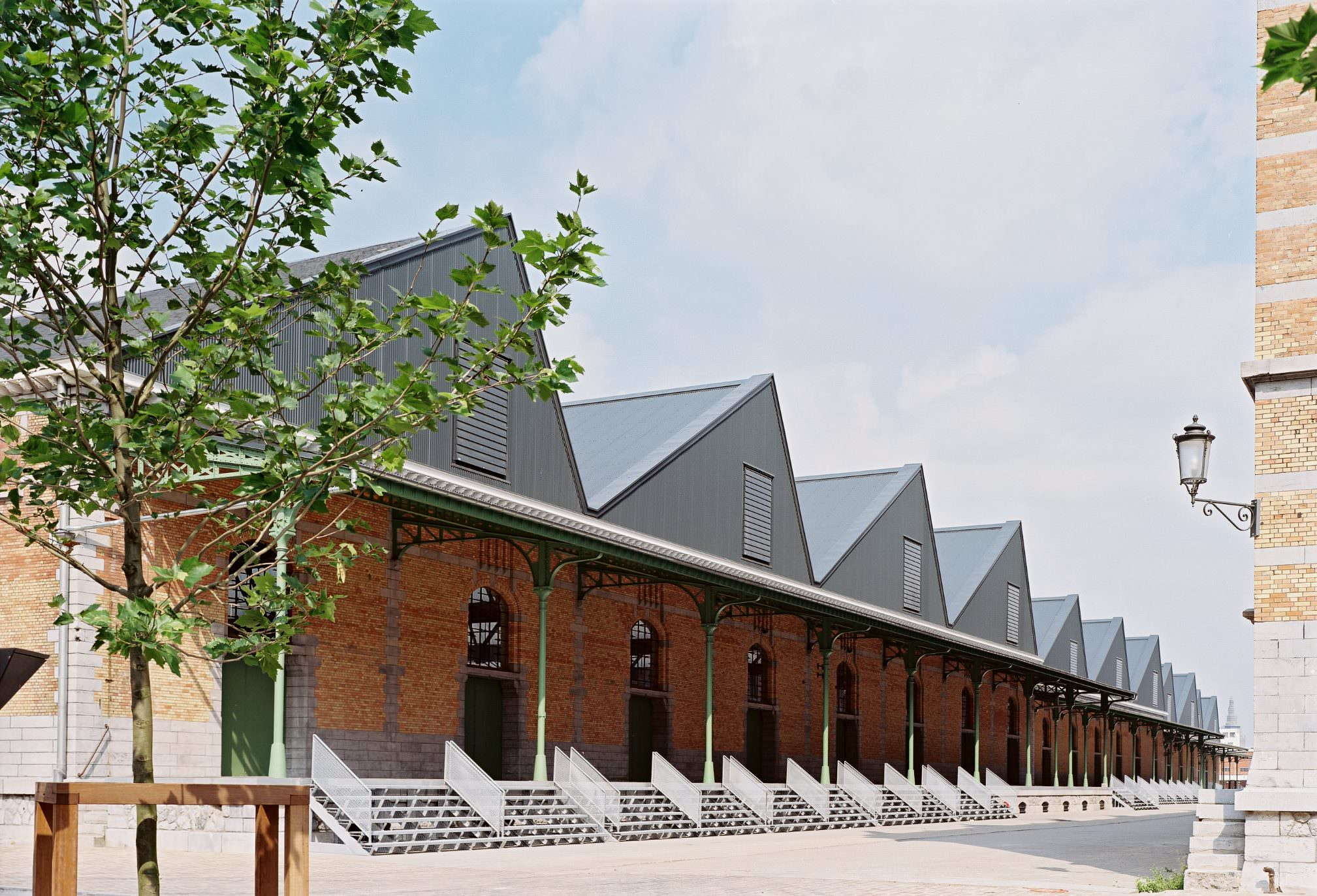 Large event venue : the Sheds - Tour & Taxis