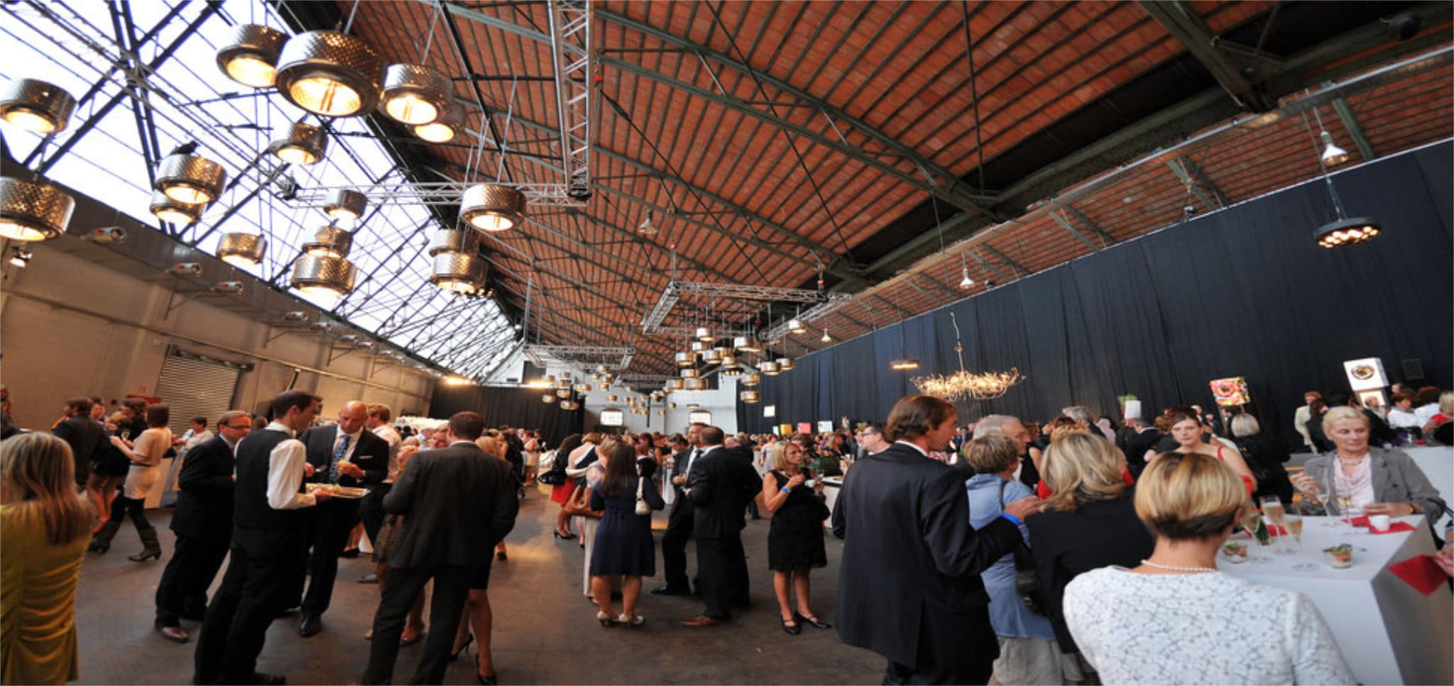 The Sheds - Tour & Taxis - Events - Receptions - Diners