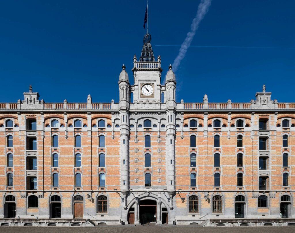 Tour et Taxis grand batiment, patrimoine industriel Bruxelles