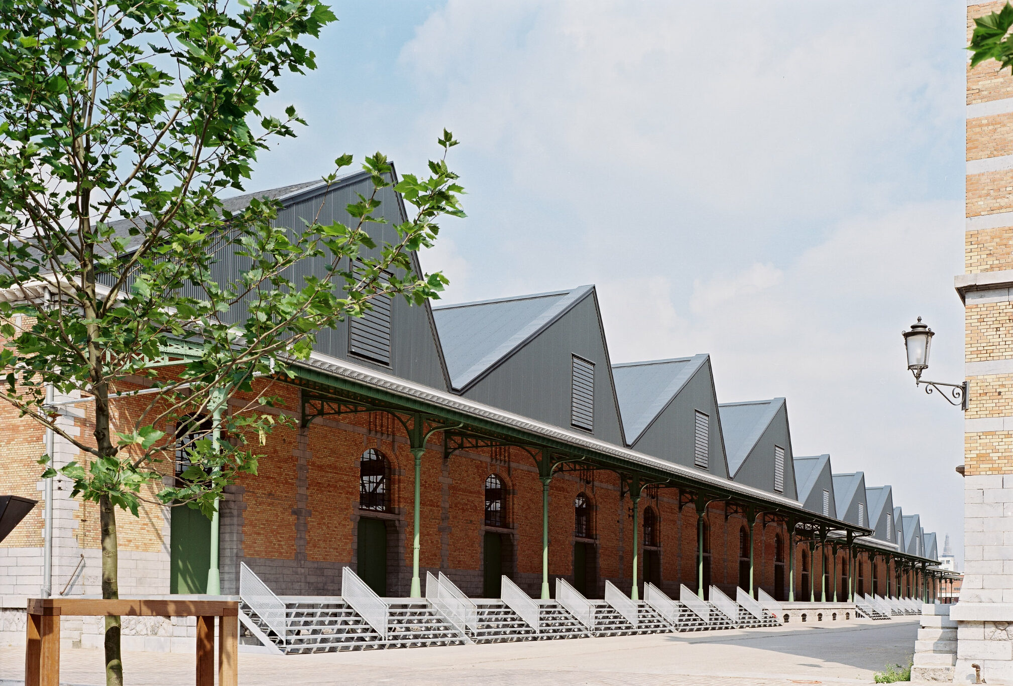 The sheds can welcome large gathering and big events